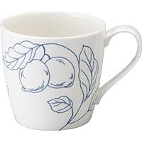 NARUMI(ナルミ) マグカップ デイプラス(Day+) ホワイト 340cc 電子レンジ オーブン 食洗機対応 41285-2889