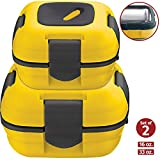 Insulated Lunch Box Set (Yellow)