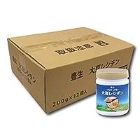 豊生 大豆レシチン 200g × 12個セット