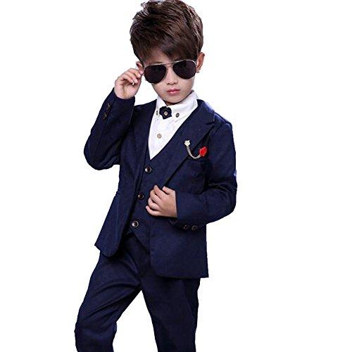 convoy leather男の子 スーツ 4点セット 入学式スーツ ボーイズ フォーマル キッズ ...