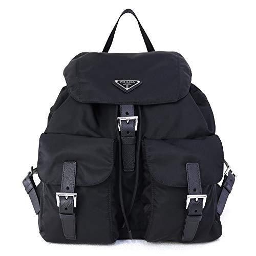 [プラダ] バッグ VERA BACKPACK バックパック リュック ブラック (1BZ811 V44 F0002 NERO【A】) [並行輸入品]