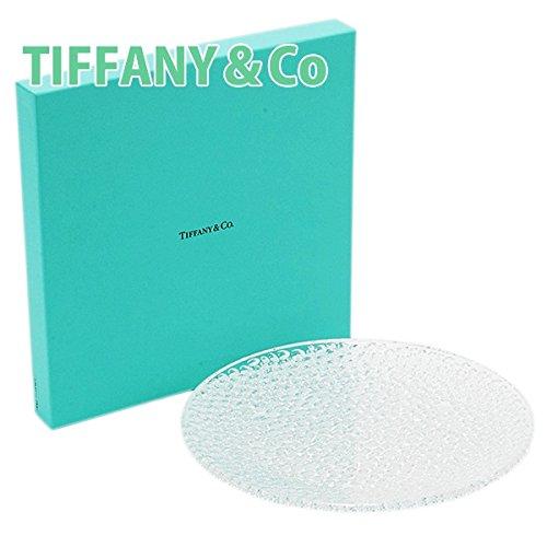 ティファニー TIFFANY&Co カデンツ コブルストーン プラター クリスタル お皿 プレート お祝い