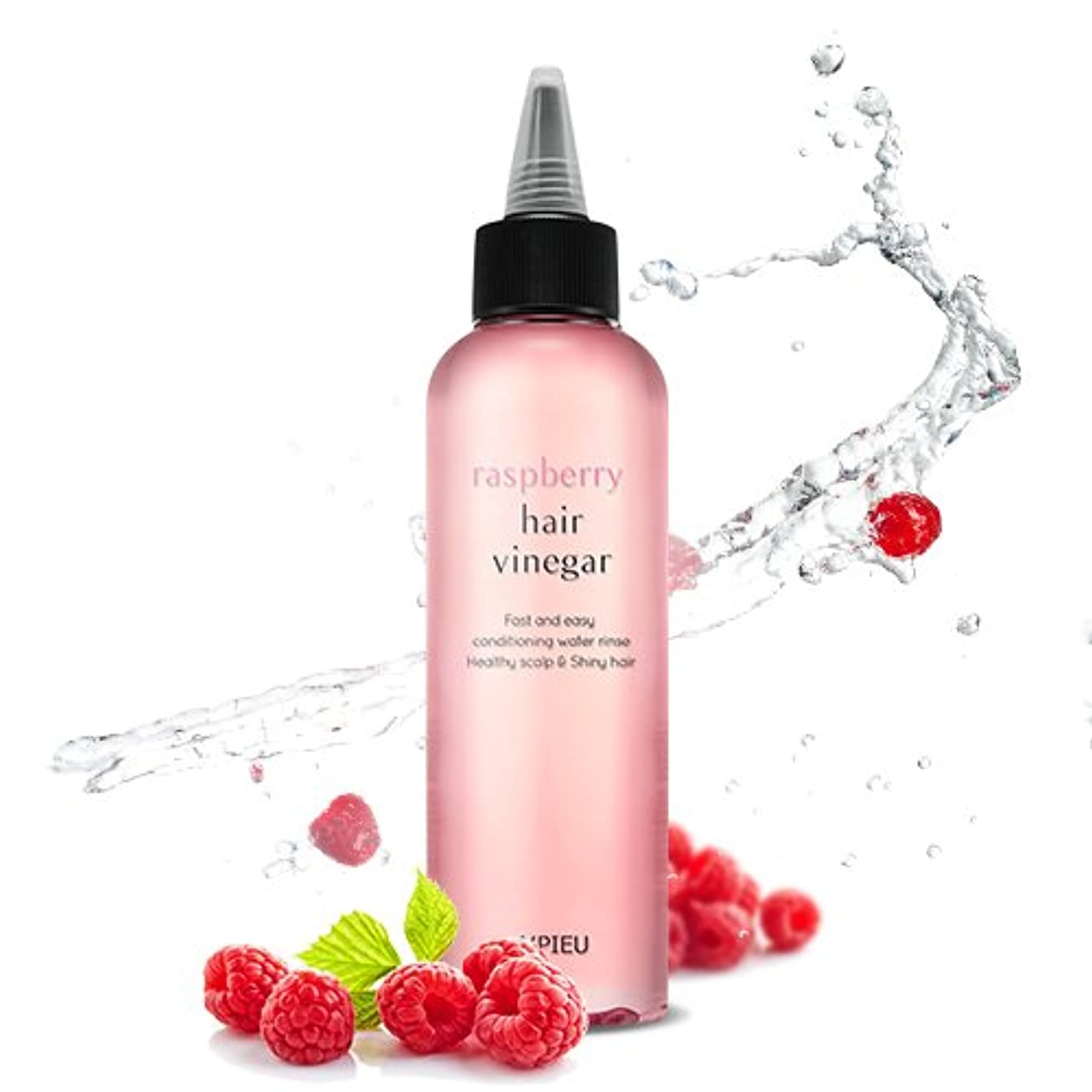オーバーフロー白雪姫憂鬱APIEU Raspberry Hair Vinegar / [アピュ/オピュ] ラズベリーヘアビネガー 200ml [並行輸入品]