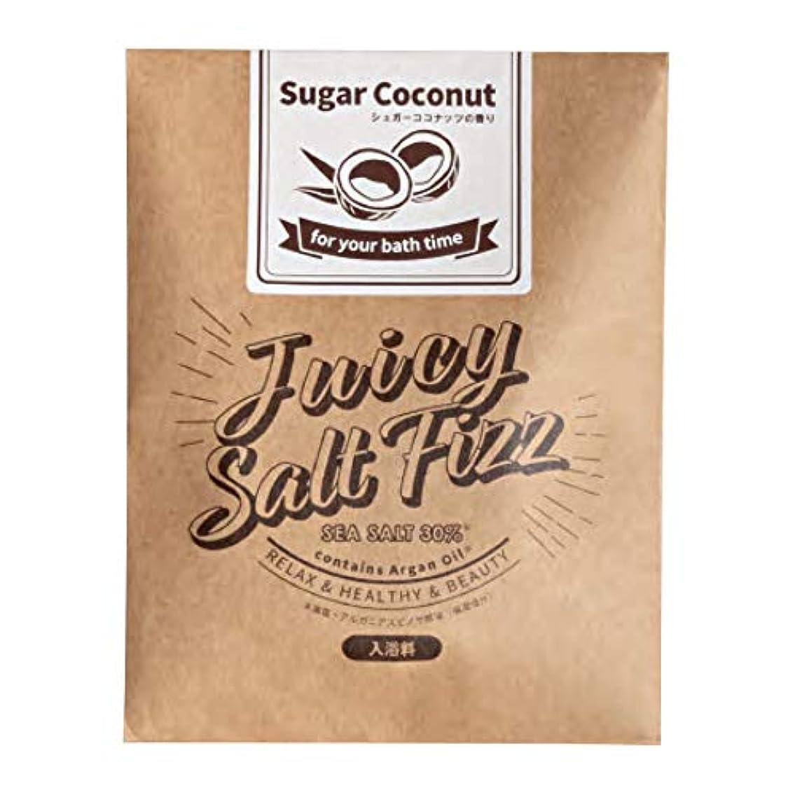 苦気分報奨金サンパルコ 入浴剤 ジューシーソルトフィズ シュガーココナッツの香り 180P