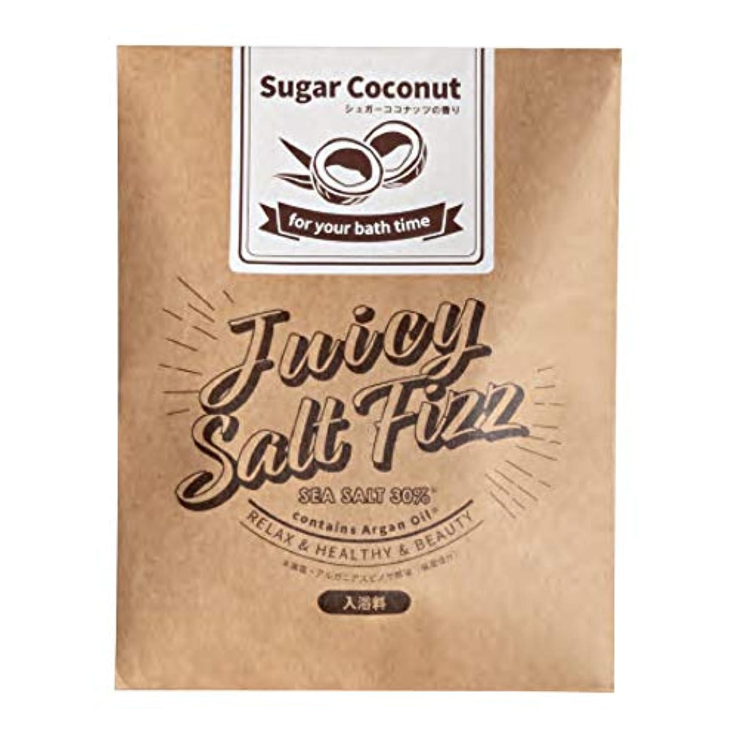 サンパルコ 入浴剤 ジューシーソルトフィズ シュガーココナッツの香り 180P