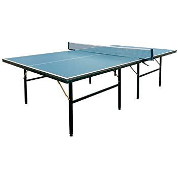 〔特選品〕卓球台 国際規格サイズ セパレート式 (固定式)〔代引可能〕(PB-2PG0019) カラー ネイビー