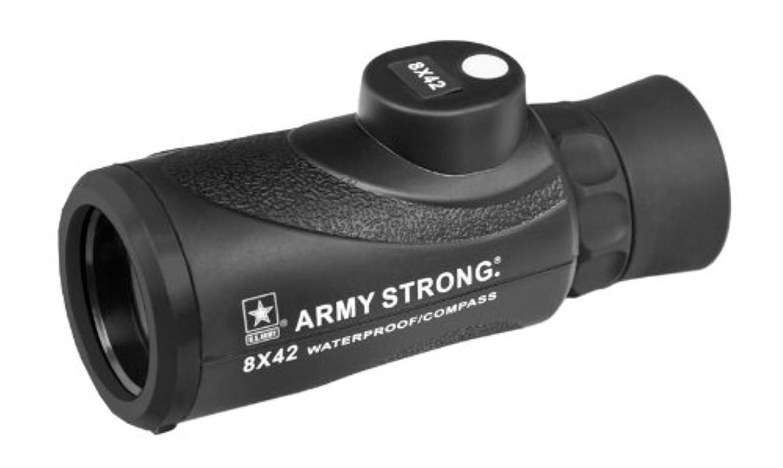 ベンチャー暗殺者器官U.S. ARMY 防水 コンパス単眼鏡 モノキュラー 8 x 42 US-MC842