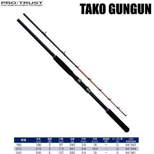 プロトラスト タコガンガン/TAKO GUNGUN 240