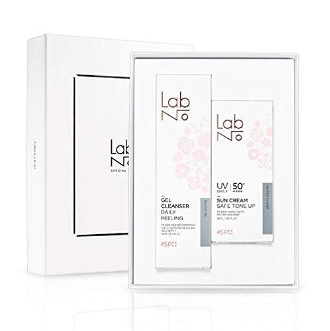 時計土砂降り昼間LabNo ジェルクレンザー + 日焼け止め セット / Gel Cleanser + Sun Cream Set / SPF50PA++++ [並行輸入品]
