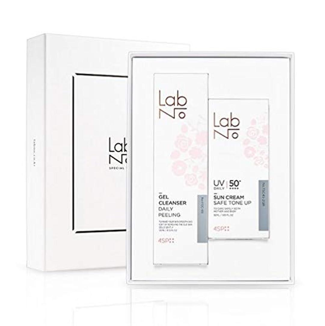 イサカ素敵な経歴LabNo ジェルクレンザー + 日焼け止め セット / Gel Cleanser + Sun Cream Set / SPF50PA++++ [並行輸入品]