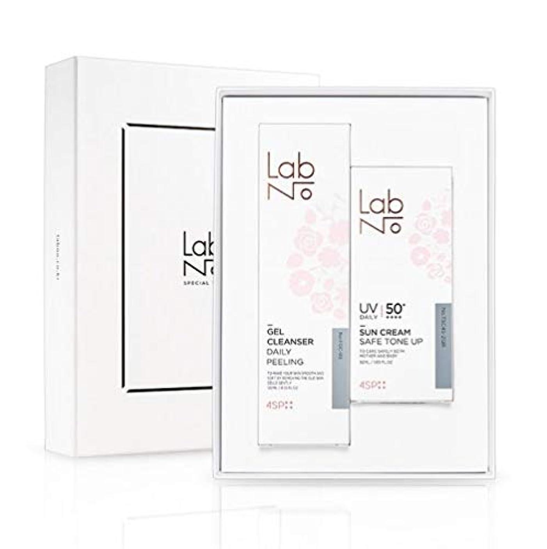 カブ勧告項目LabNo ジェルクレンザー + 日焼け止め セット / Gel Cleanser + Sun Cream Set / SPF50PA++++ [並行輸入品]