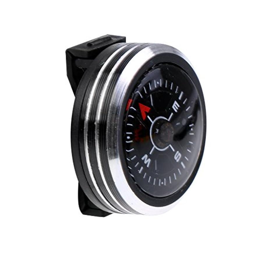 日付大学クレアPerfk 方位磁石 手首 屋外 ナビゲーション 腕時計の形 コンパス アウトドア  アルミ合金