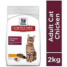 Hills Science Diet Adult Cat Original Optimal Care Food 2 Kg