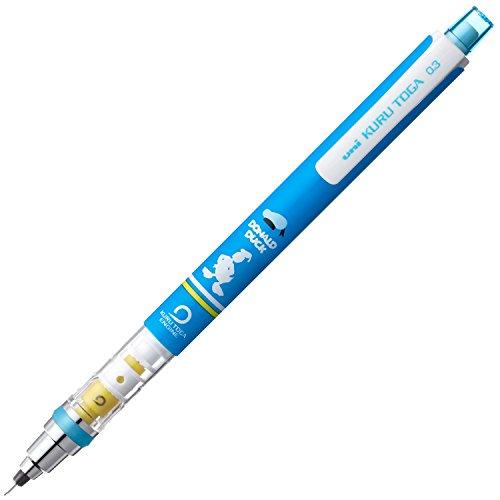 三菱鉛筆 シャープペン クルトガ ディズニー 0.3 ドナルド M3650DS1P.D