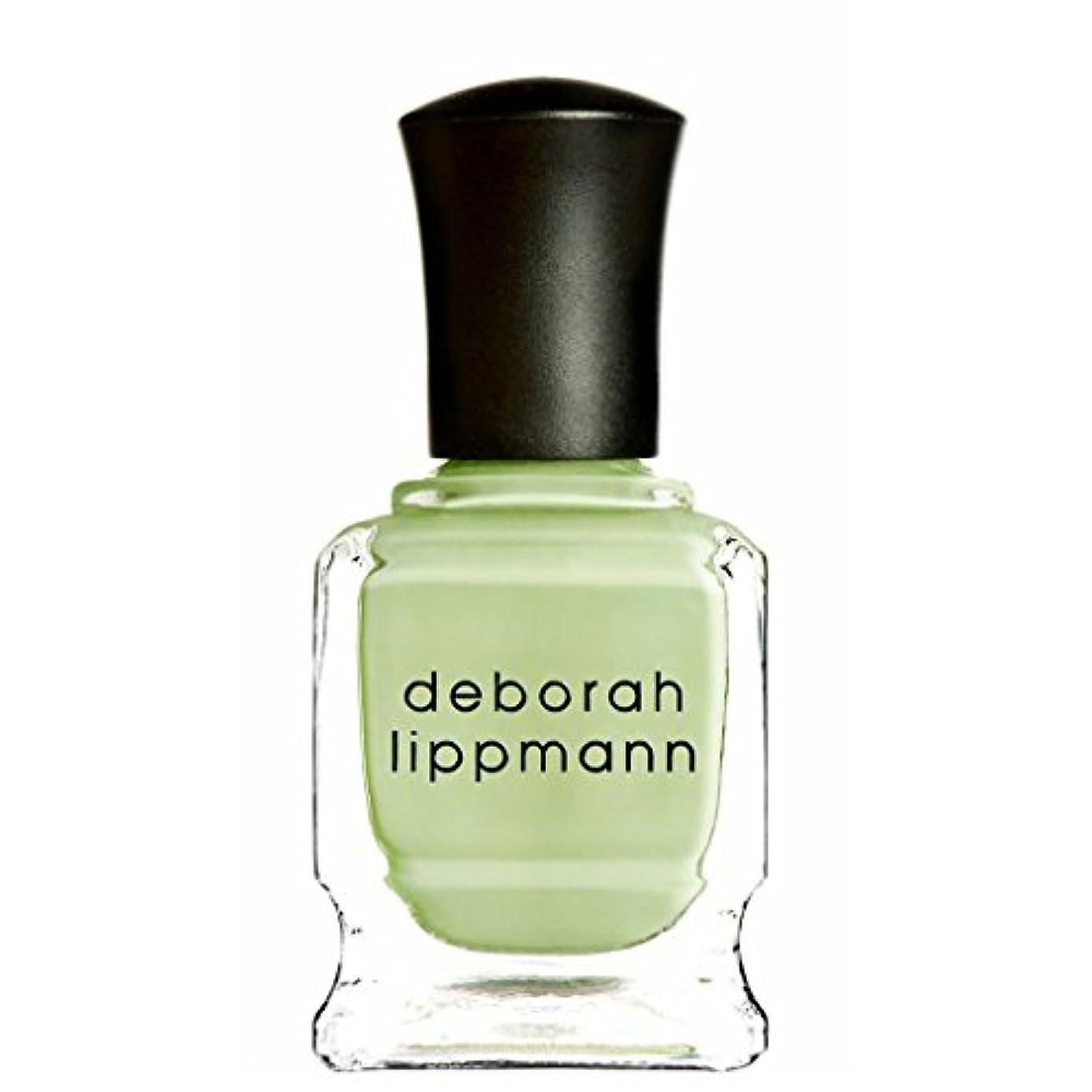 第二に人種キャメル[Deborah Lippmann] [ デボラリップマン] ネイルポリッシュ スプリングバッド (ピスタチオグリーン) SPRING BUDS 15mL 国内正規品