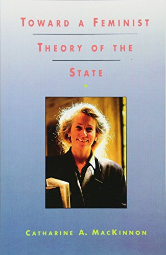 Download Toward a Feminist Theory of the State 0674896467