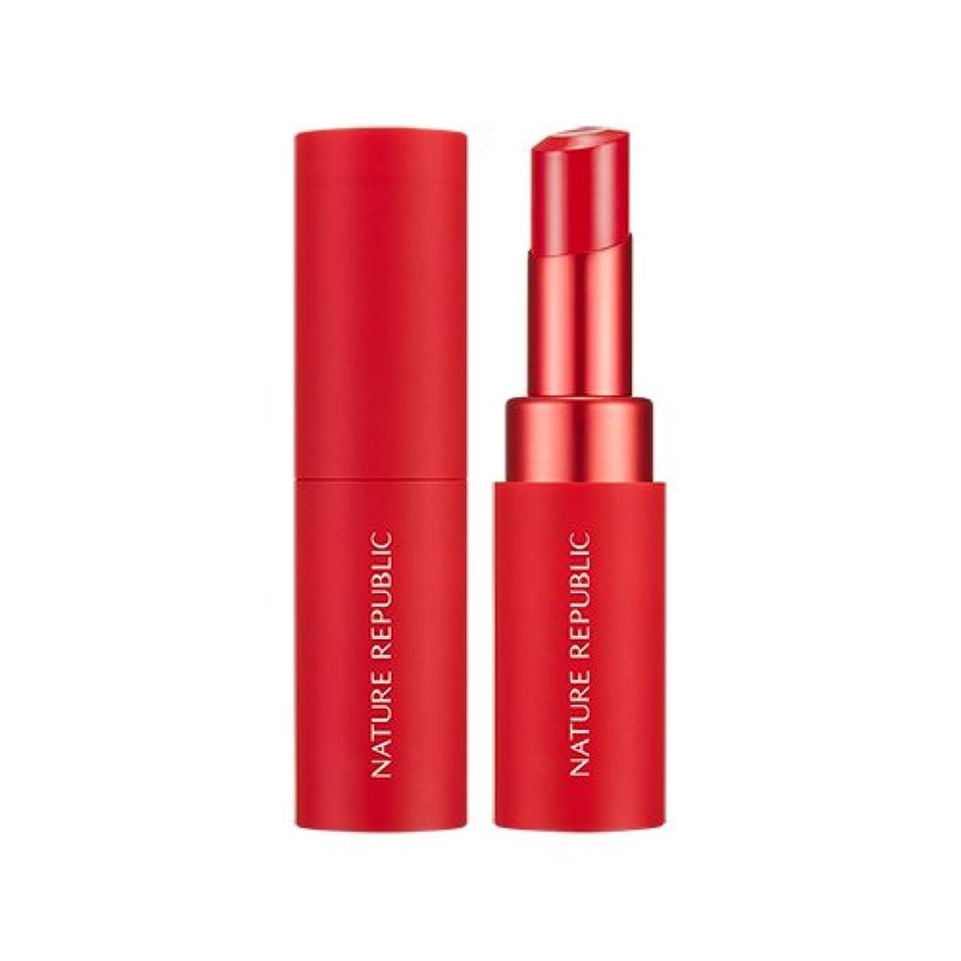 報酬の滅びる引き出すNATURE REPUBLIC Real Matte Lipstick (05 Sparkling Pink) / ネイチャーリパブリック リアルマットリップスティック [並行輸入品]
