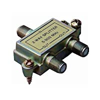 Morris 45030 2 Way Splitters with Ground Block, 5-900 MHz by Morris