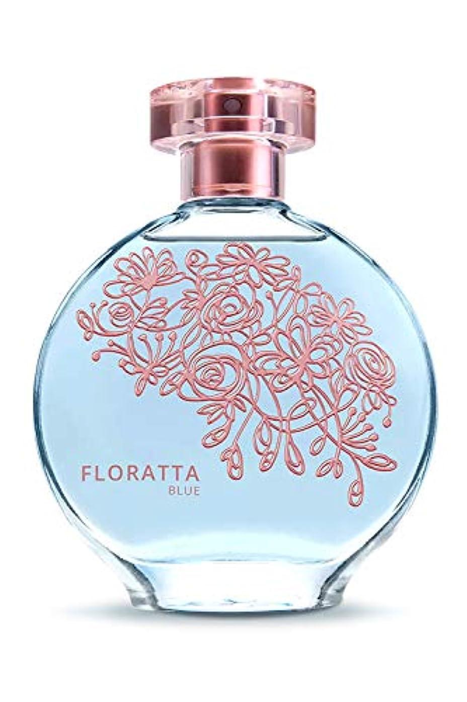 ちらつき抱擁変換するオ?ボチカリオ 香水 オードトワレ フロラッタ ブルー FLORATTA BLUE 女性用 75ML