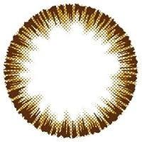 BeeHeartB MARY( ビーハートビー メアリー )【 ブラウン 】 カラコン 1day 1箱30枚入【 度なし 】 14.0mm 【PWR】±0.00(度なし)