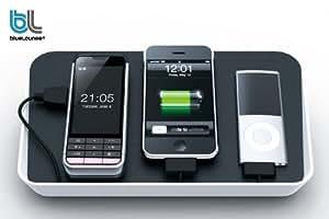 BlueLounge Refresh 携帯電話・iPod・ゲーム機充電トレイ Black BLD-RF-BK