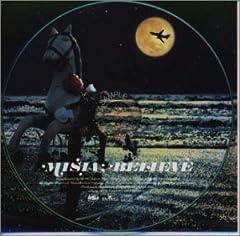 MISIA「BELIEVE」の歌詞を収録したCDジャケット画像