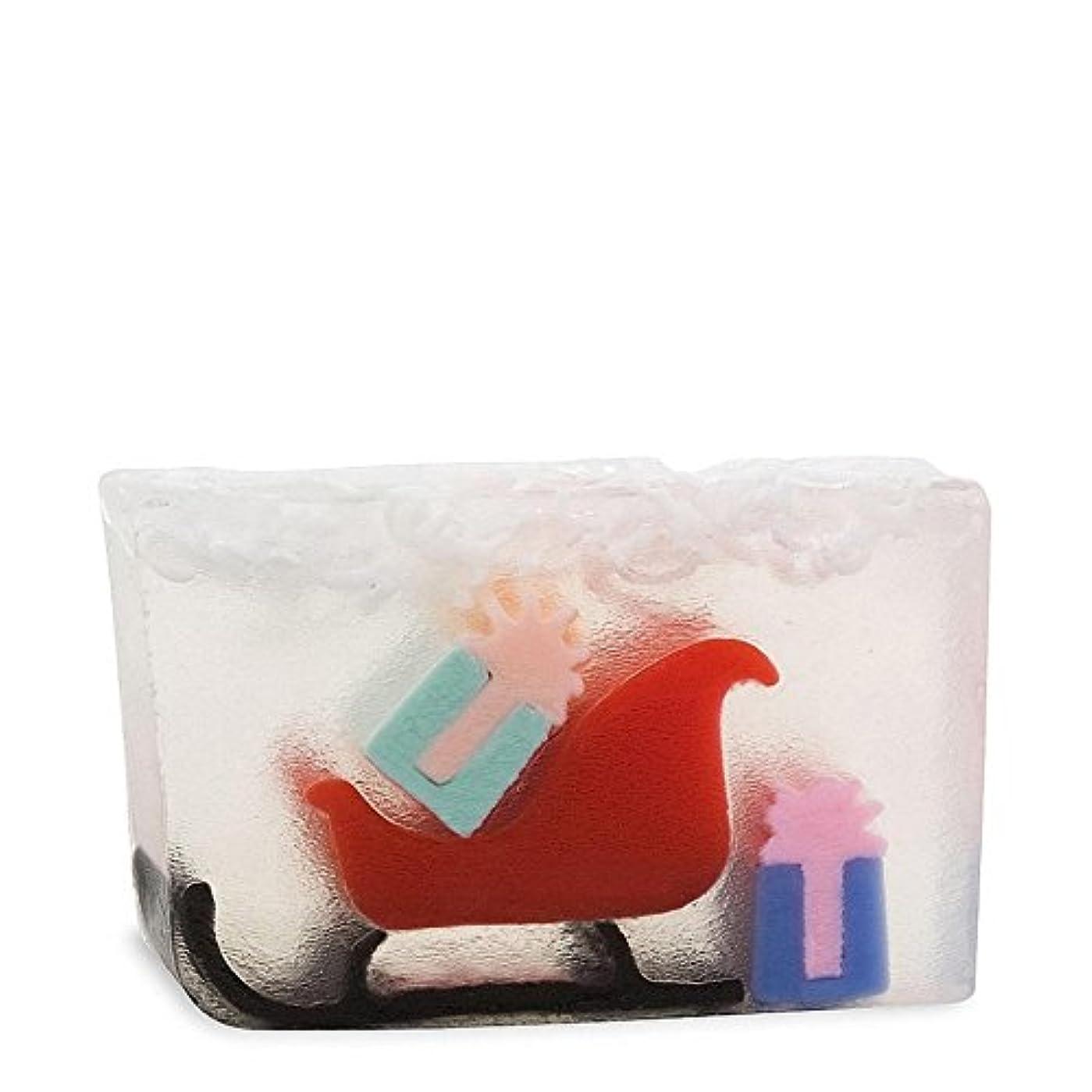 本物はがきスイング原始要素のサンタのそり x4 - Primal Elements Santas Sleigh (Pack of 4) [並行輸入品]