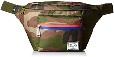 [ハーシェルサプライ] Herschel Supply 公式 Seventeen 10017-00699-OS Woodland Camo/Multi Zipper (Woodland Camo/Multi Zipper)