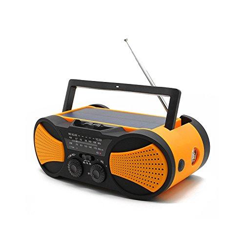 防災ラジオ 懐中電灯 手回し ソーラー ラジオ ライト 電池 USB充電 AM/FMラジオ太陽光充電 防災グッズ 地震震災津波台風停電緊急対策 iPhoneAndroidスマホ充電対応可能