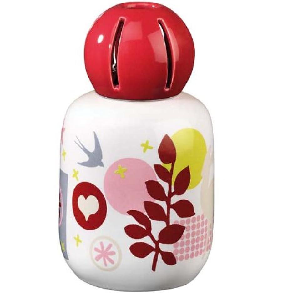 象計器キャリッジランプベルジェ製 アロマランプ ハッピー 【 レッド 】陶器 4167 正規輸入品