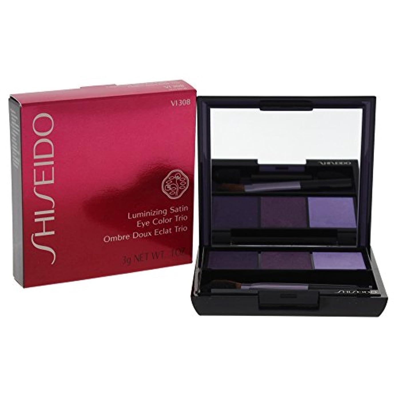 後ろに割り当て聖書Shiseido - 資生堂トリオアイカラーサテンVI308 - 【並行輸入品】