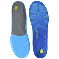 Superfeet Run Comfort Thin Insoles Carbon Fiber Running Shoe Orthotic Slim Inserts for Support and Cushion