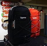 (シュプリーム) SUPREME 16SS★ BACKPACK バックパック リュック BLACK RED ボックスロゴ ユニセックス リックサック BAG [並行輸入品]