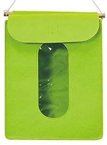 ファイン やさしいフェルトでできたタオルストッカー グリーン FIN-630
