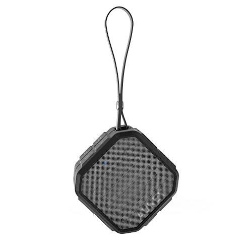 AUKEY Bluetooth スピーカー ポータブル ワイヤレススピーカー IP65 防水防塵認証 高音質 iPhone、iPad、Sonyなどに対応 SK-M13