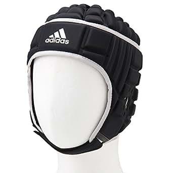 (アディダス)adidas ヘッドガード ラグビー ラグビーヘッドガード プロテクター M ブラック/マットシルバー (国内正規品)