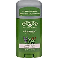 Nature's Gate, Deodorant, Herbal Blend, Lavender & Aloe, 1.7 oz (48 g)