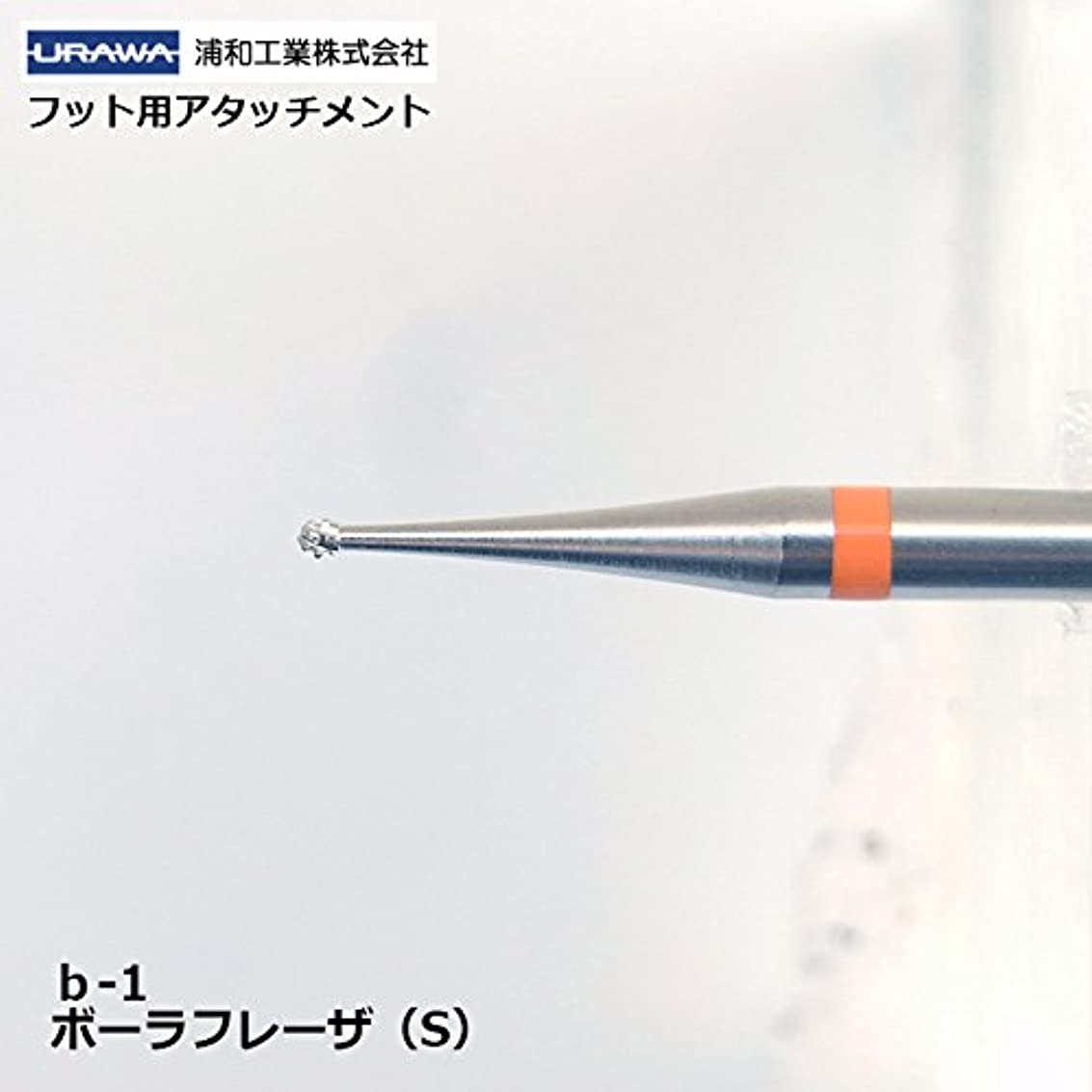 ボリューム粘土改革【URAWA】ボーラフレーザーS(b-1)【フット用アタッチメント】