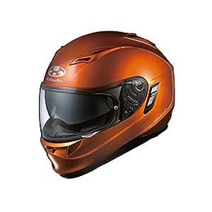 オージーケーカブト(OGK KABUTO)バイクヘルメット フルフェイス KAMUI2 シャイニーオレンジ (サイズ:XS)