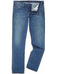 (アルマーニ ジーンズ) Armani Jeans メンズ ボトムス?パンツ ジーンズ?デニム J06 Slim Fit Dark Wash Jeans [並行輸入品]
