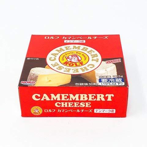 ROLF カマンベールチーズ 125g 【冷凍・冷蔵】 4個