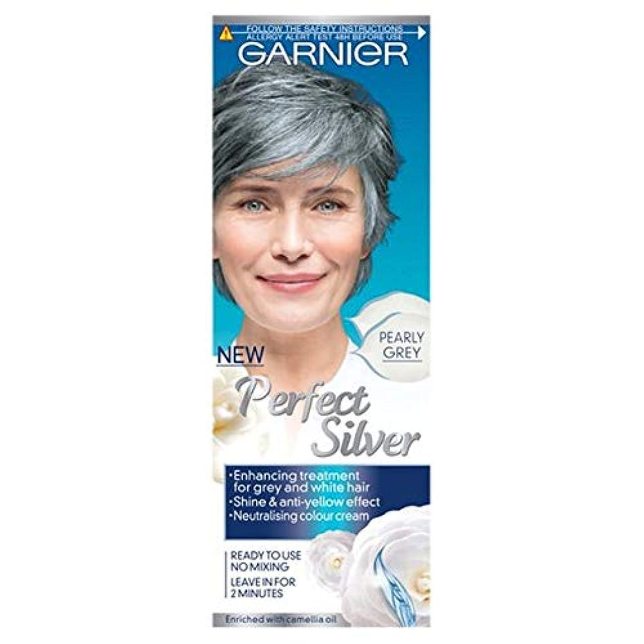 宿題をする拍車ひまわり[Nutrisse] ガルニエ完璧なシルバー、パールグレー80ミリリットル - Garnier Perfect Silver Pearly Grey 80Ml [並行輸入品]