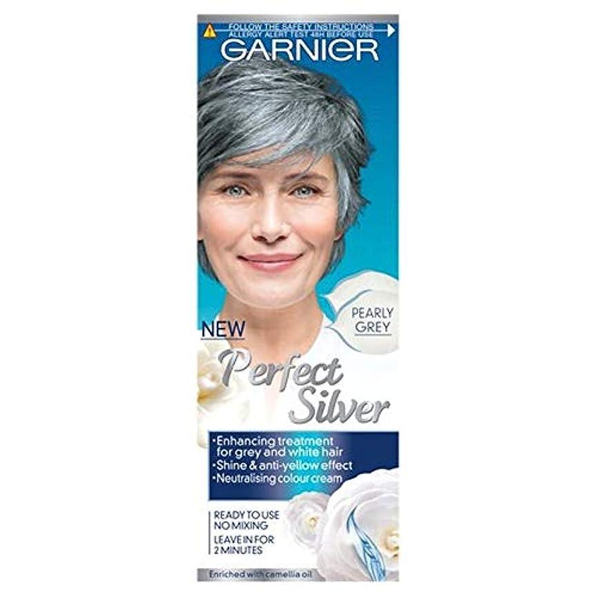 民主主義ゆるく脅威[Nutrisse] ガルニエ完璧なシルバー、パールグレー80ミリリットル - Garnier Perfect Silver Pearly Grey 80Ml [並行輸入品]