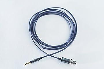 AKG C200 Mini XLR3ピン-3.5mm 高純度6N-OFC導体ヘッドホンケーブル ダークグレー AC-3.5M-MXLR3-2M 【国内正規品】