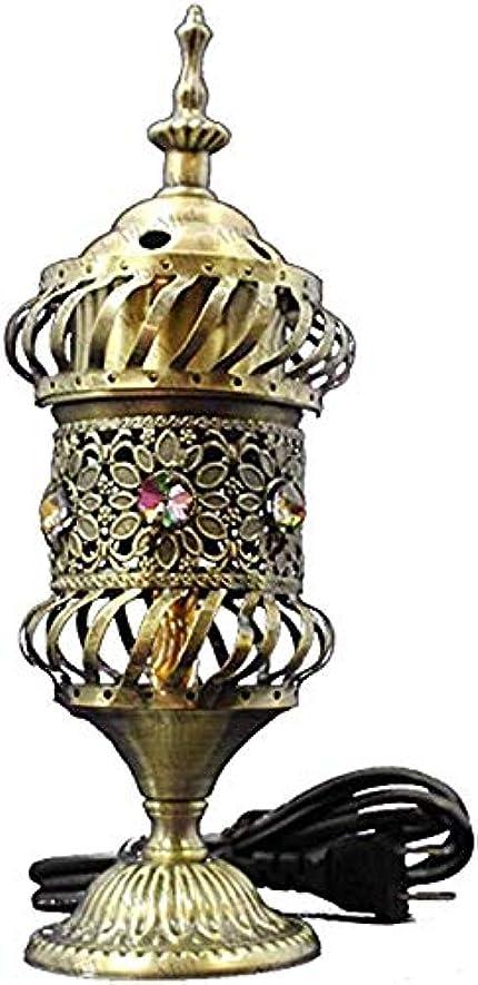 のれんピッチャー黒人OMG-Deal Electric Bakhoor Burner Electric Incense Burner +Camphor- Oud Resin Frankincense Camphor Positive Energy...