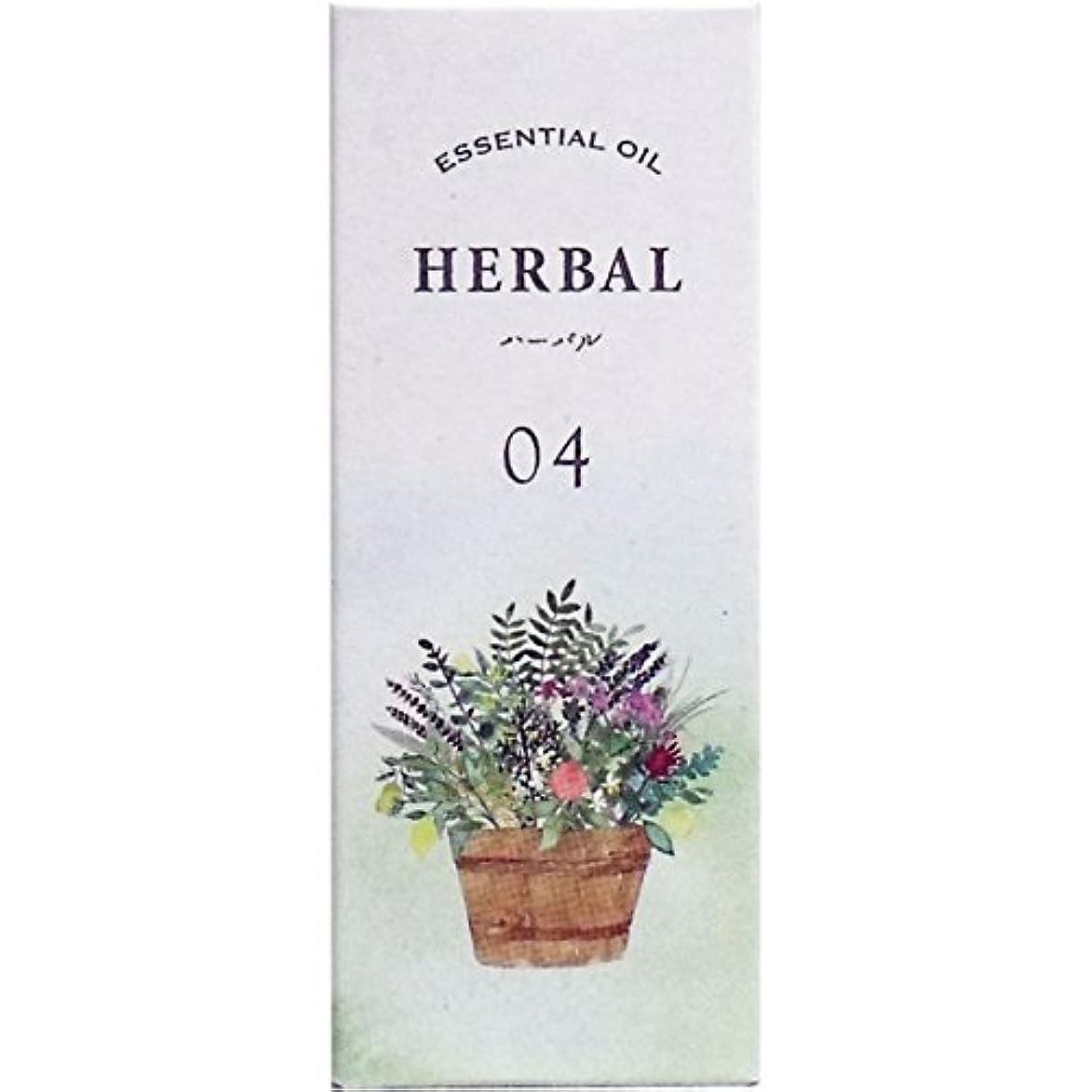 香り性的維持生活の木 ブレンドエッセンシャルオイル ハーバル(5ml)
