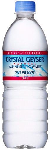 大塚食品 Geyser(クリスタルガイザー) 500ml×24...