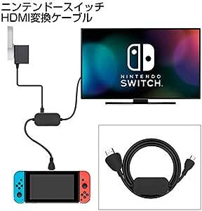 C-FORCE CF010 USB-C to HDMI cable Nintendo Switch 任天堂スイッチ ニンテンドースイッチ 変換ケーブル Switchケーブル USB3.0 Type C HDMI変換ケーブル Switchアダプタ PD充電 音声 映像 サポート MacBook/Huawei Mate10 / Chrome book