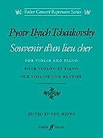 Souvenir d'un lieu cher (Faber Concert Repertoire Series)