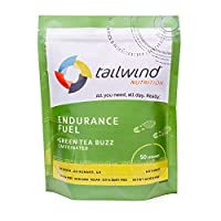 Tailwind Nutrition Caffeinated Endurance Fuel Green Tea Buzz 50 Serving by Tailwind Nutrition